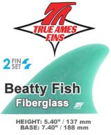 "zGlass On - True Ames Twin Set ""BEATTY FISH"" (fiberglass)"