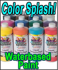 Color Splash! Waterbased Paint (QUART)