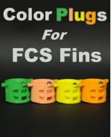 Color Plugs for FCS Fins
