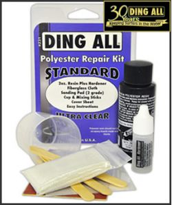 'Ding All Standard (polyester) Repair Kit