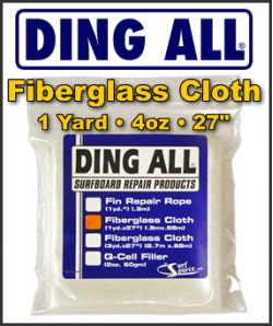 Ding All 4oz. Fiberglass Cloth Pack - 1 Yard Pack
