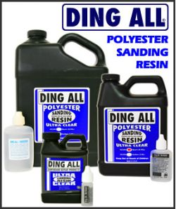 ..Ding All - Silmar Polyester Resin: SANDING (250A)
