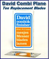 David Combi Plane REPLACEMENT BLADES