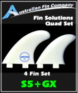 Fin Solutions S5 + GX Quad Set