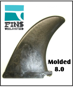 "Fins Unlimited Molded 8"" Standard"