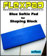 Flexpad Bue Softie Pad for Balsa Shaping Block