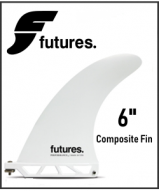 "Futures 6"" Composite Center Fin"