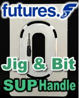 Futures SUP Handle - Installation Template Jig & Router Bit