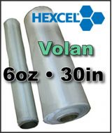 Fiberglass Cloth Hexcel VOLAN - 6oz x 30inch Wide