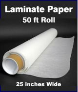 Laminate paper: 50 Foot Roll