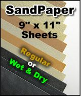 Klingspor Sand Paper 9 x 11 - By the Sheet