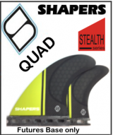 Shapers Carbon Stealth Series Quad Set