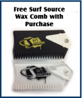 z - Free Surf Source Wax Comb with purchase