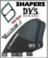 Shapers Carbon Flare DVS Keel Quad Set