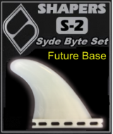 SHAPERS Composite S-2 Side Bite Fin Set